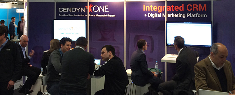 CendynONE Booth at ITB Berlin 2016 hall 6.1 stand 151